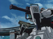 Gundam Ground Type - Missile Launcher Equipped