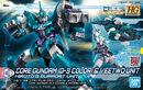 HGBDR Core Gundam (G3 Color) & Veetwo Unit