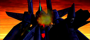 Raven cockpit destroyed
