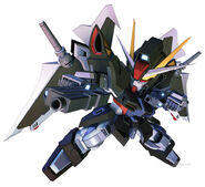 SD Gundam G Generation Crossrays Gundam Strike Noir