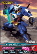 Gundam AGE-1 Spallow Try Age 11