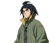 ''SD Gundam G Generation Crossrays'' Mikazuki Argus