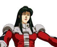 Character Profile Cima Garahau pilot suit