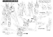 ZGMF-X19A Infinite Justice Gundam Linearts