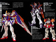 From Gundam Wing G.O.L Vol.1 data