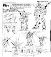 Gundam Akatsuki Linearts