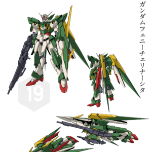 Awesome Wing Gundam Fenice Rinascita Pictures