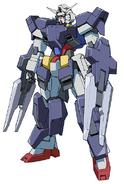Gundam AGE-1 Flat FA Front
