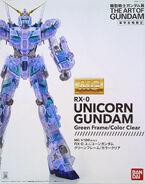 MG Unicorn Gundam (Green Frame Clear Color Ver.)