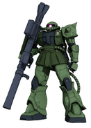 MS-06C Zaku II Front Armed