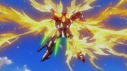 TBG-011B Try Burning Gundam Repaired (Burning Burst System)