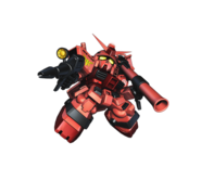 Casval Gundam SD Super