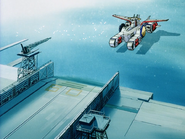 Mobile Suit Gundam Journey to Jaburo PS2 Cutscene 045 White Base 3