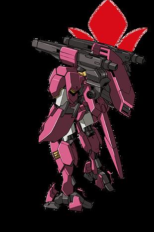 Rear (w/ Short Barrelled Cannons)