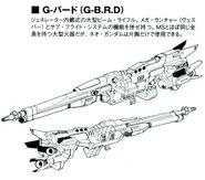 G-BRD lineart