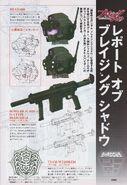 GM Striker EX weapons