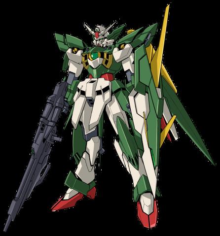 File:Wing Gundam Fenice Rinascita - MS Mode Front.png