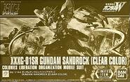 HGAC Gundam Sandrock -Clear Color-