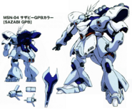 Sazabi GPB colors