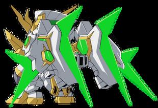 Rear (SD Gundam Mode)