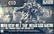 HGUC Blue Destiny Unit 3 EXAM -Metallic Gloss Injection-