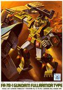 FA-78-1 - Gundam Full Armor Type - Boxart