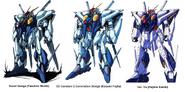 Xi Gundam Designs