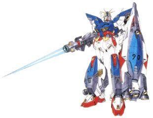 Front (w/ Beam Lancer & Flight Shield)