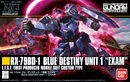 HGUC Blue Destiny Unit 1 Exam