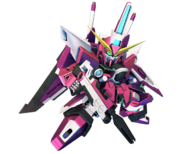 SD Gundam G Generation Cross Rays Infinite Justice Gundam