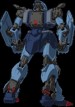 Rear (w/ Spike Shields)