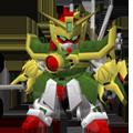Unit as dragon gundam super mode