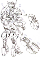 Barbatos Backpack arms