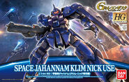 HG Space Jahannam Klim Nick