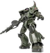 MS-06GR Zaku II High Mobility Ground Type Kai BO2