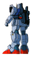 RX-79(GUNDAM GROUND TYPE) back a