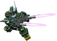 SD Gundam G Generation Genesis GM Striker