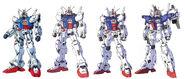 GP01 Gundam Zephyranthes designs