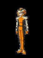 G Gen Cross Rays Custom Character (Female EA Pilot with Helmet)