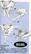 Recarl earlier designs