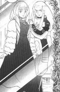 Turn A Gundam Manga Tokita Kihel and Dianna