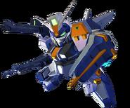 ''SD Gundam G Generation Crossrays'' Duel Gundam