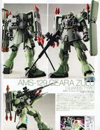 Geara Zulu Guards Type 1