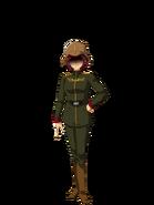 G Gen Genesis Custom Character (Female Zeon Soldier)
