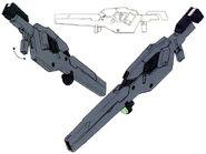 GNY-004 - Gundam Plutone - GN Beam Rifle
