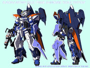 Gundam Astray Blue Frame 2nd Revise Scale System