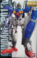 Gunpla MG ltd GundamGP01Fb-Coating box