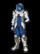 G Gen Cross Rays Custom Character (Male Gjallarhorn Pilot with Helmet)