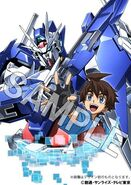 Riku & Gundam 00 Diver Ace Blu-Ray Information