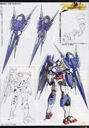 Gundam 00V Battlefield Record - GNT-0000FS - 00 QanT Full Saber2